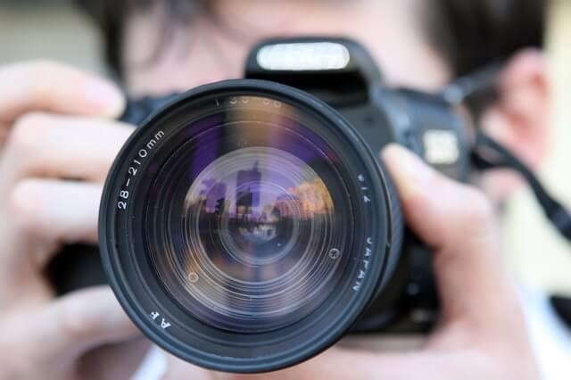 Equipamento/câmera de fotografia